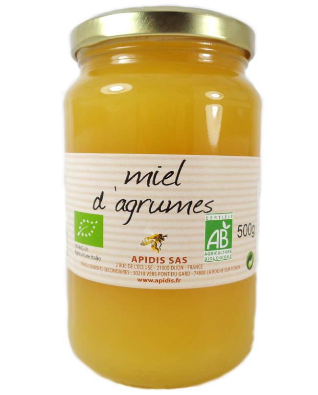 Miel Agrumes Italie Biologique