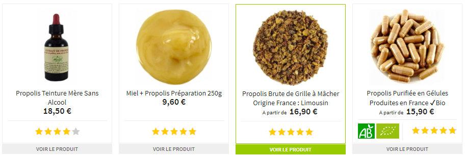 Propolis a Macher Limousin Biologique + Gelules + Miel