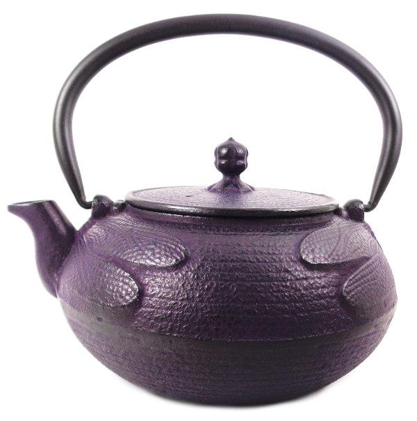 Théière Japonaise en Fonte Emaillée Roji Associates Libellule Violette