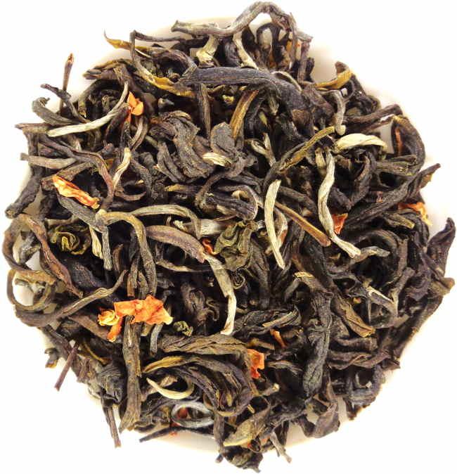 thé vert bio du vietnam parfumé au jasmin Lai Chau