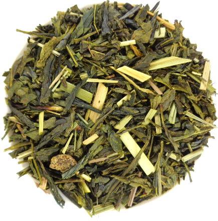 thé vert bio Sencha Parfume Citron Citronnelle