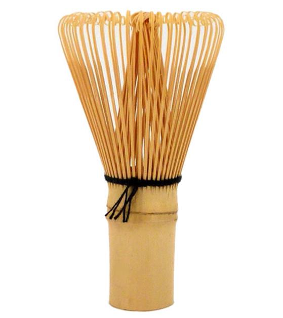 Fouet pour Thé Vert Matcha Japonais en Poudre en Bambou 80 Brins Pistils
