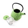 Théière en fonte émaillée avec filtre inox Song Vert 3