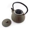 Théière en Fonte Chine Marron Taupe Filtre Inox