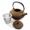 Theiere Japonaise Fonte Premium Wazuqu Itome Bronze Terre 3