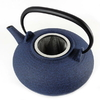 Theiere Japonaise Fonte Premium Wazuqu Itome Bleu Cendre 2