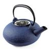 Theiere Japonaise Fonte Premium Wazuqu Itome Bleu Cendre 4