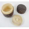 Boite à thé vert japonais matcha en bois 3 pièces
