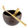 Coffret Thé Vert Japonais en Poudre Japonais Bol + Fouet Bambou + Cuillere à Thé Vert Matcha