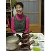 Préparation thé vert japonais en Kyusu