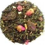 Thé Vert Parfumé Jasmin Rose Myrtilles