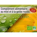 Complément Alimentaire Ampoules de Gelée Royale 1500 mg ✔Bio