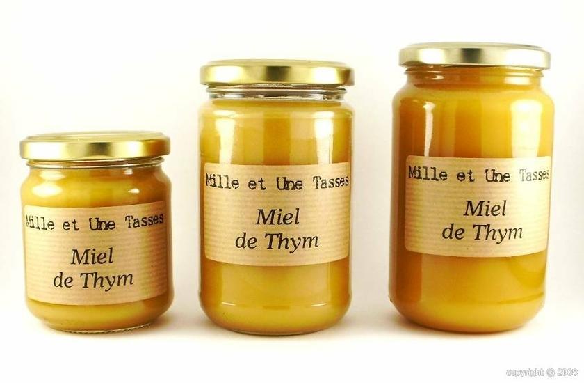 miel de thym origine espagne en pot de 250 g. Black Bedroom Furniture Sets. Home Design Ideas