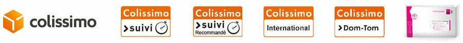 Livraisons Colissimo Suivi 1001 TASSES