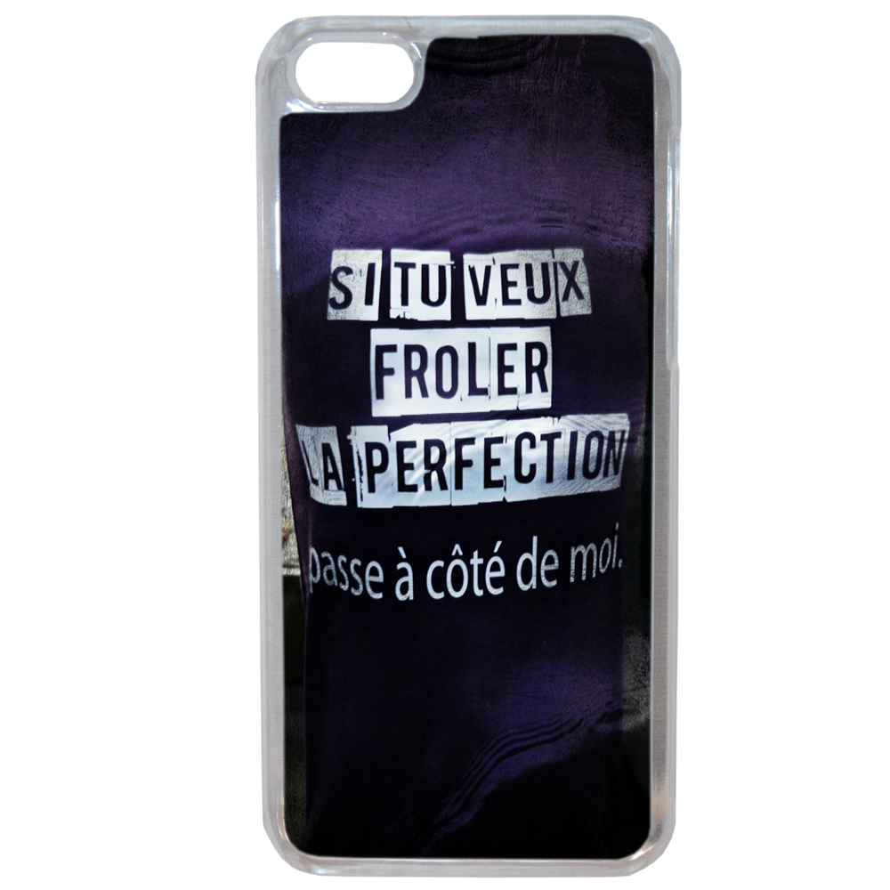 Coque Rigide Pour Apple Iphone 6 Plus - 6s Plus Motif Citation Femme 1 Humour
