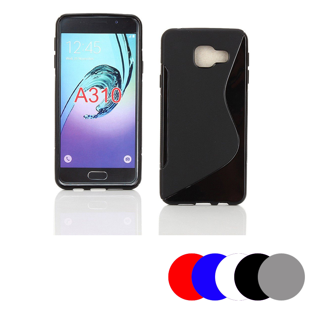 Etui housse coque gel vague s samsung galaxy a3 2016 for Housse samsung galaxy a3