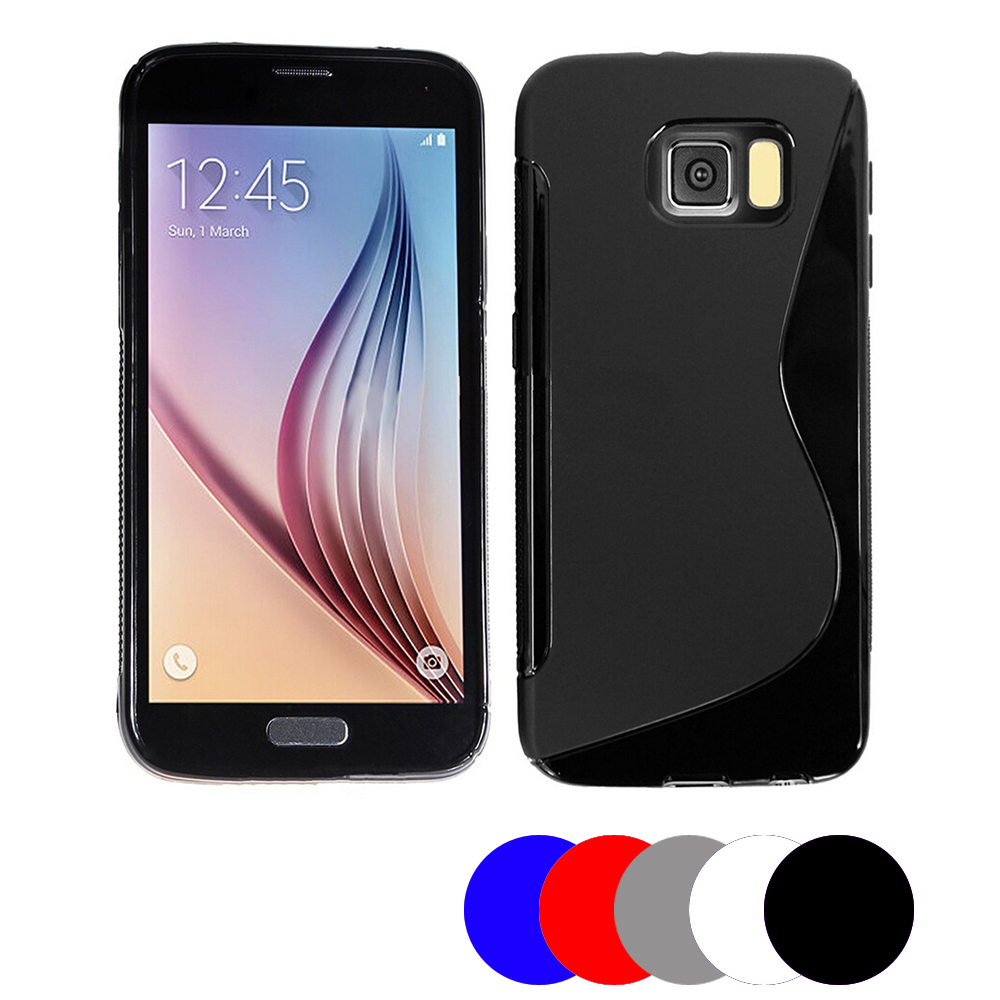 Coque Gel Vague S Pour Samsung Galaxy S7 Edge