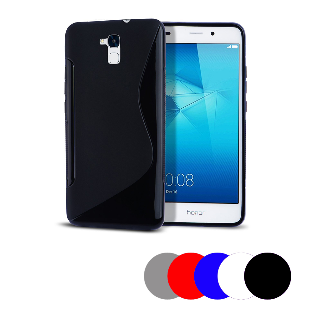 Coque Gel Vague S Pour Honor 6c