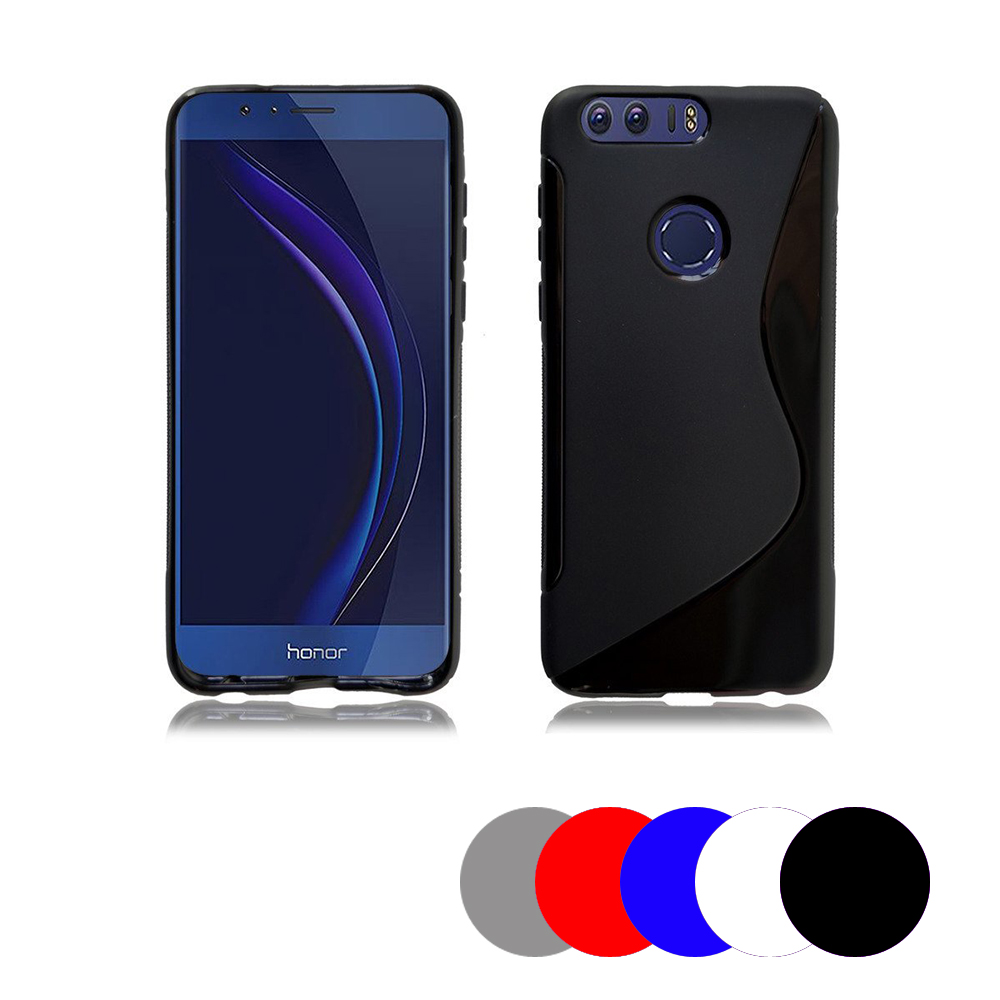 Coque Gel Vague S Pour Honor 8