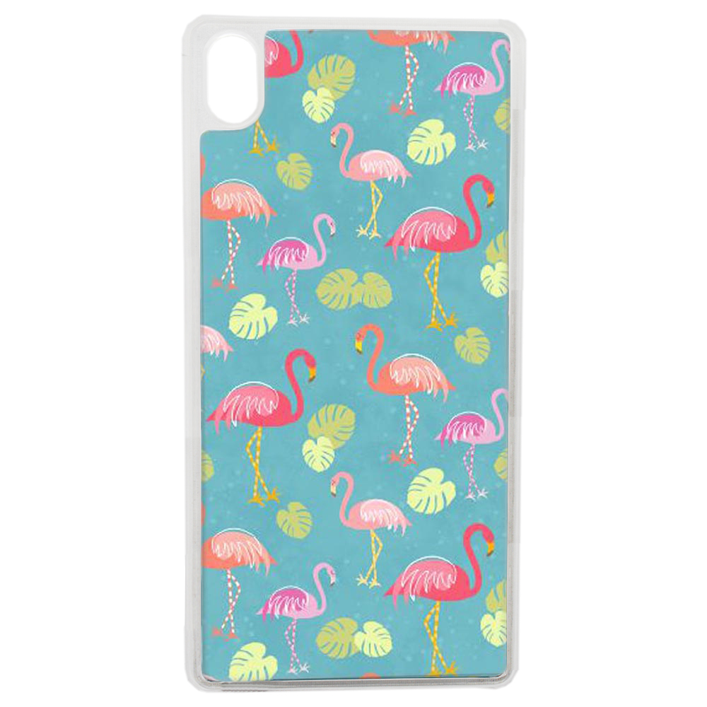 Coque Rigide Pour Apple Iphone Xs Motif Flamant Rose