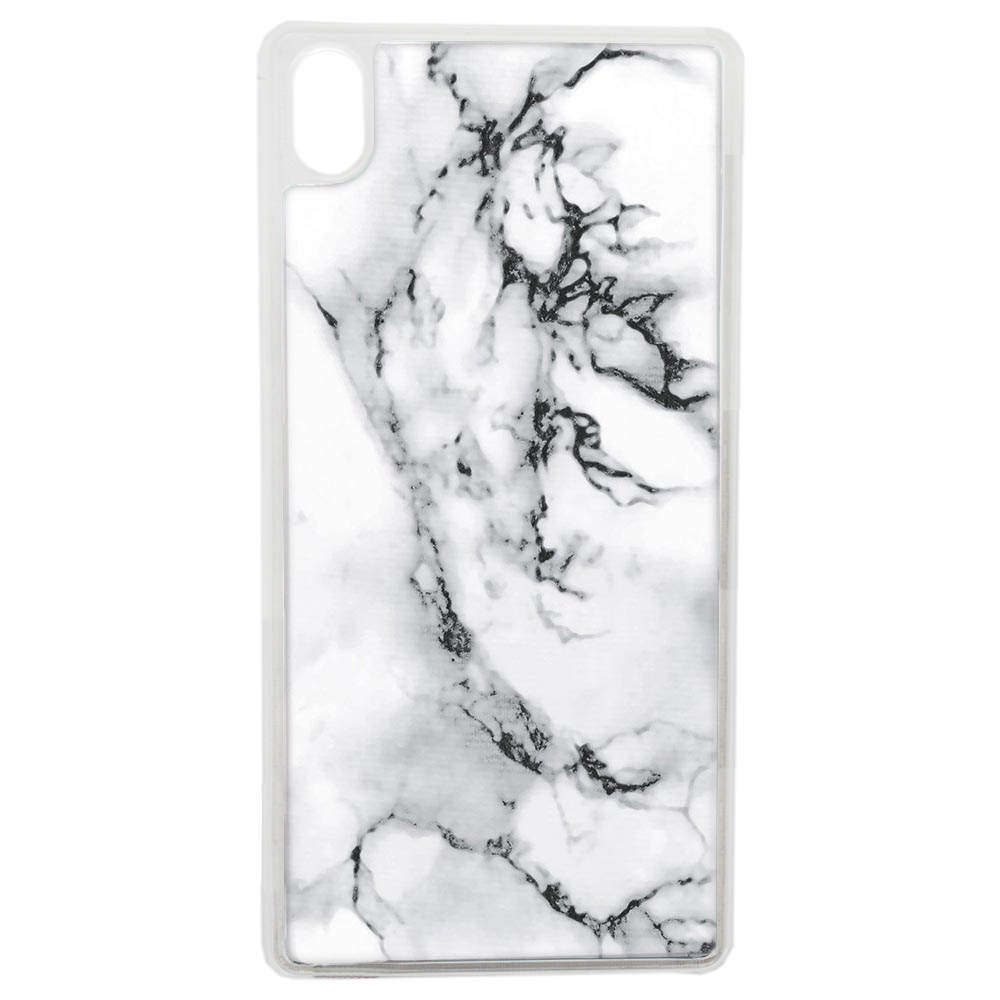 Coque Rigide Pour Apple Iphone Xs Motif Marbre Blanc