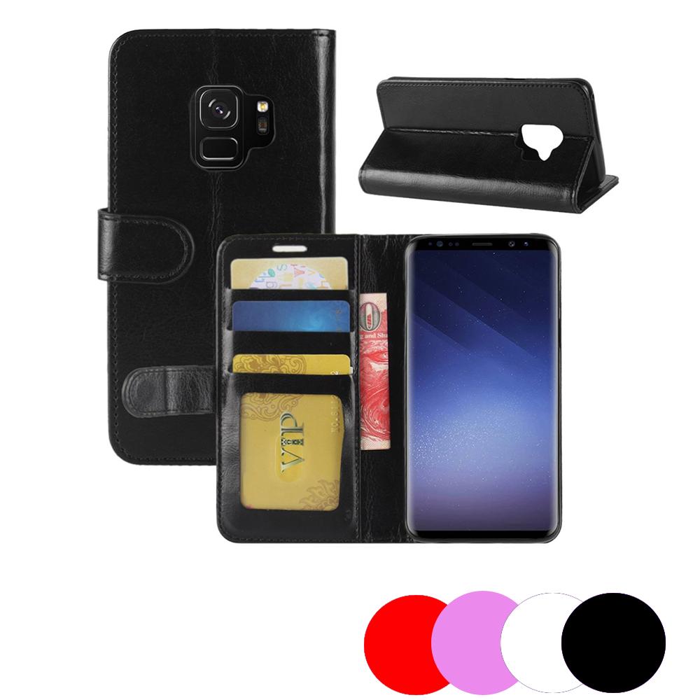 Etui Housse Portefeuille Pour Samsung Galaxy S9