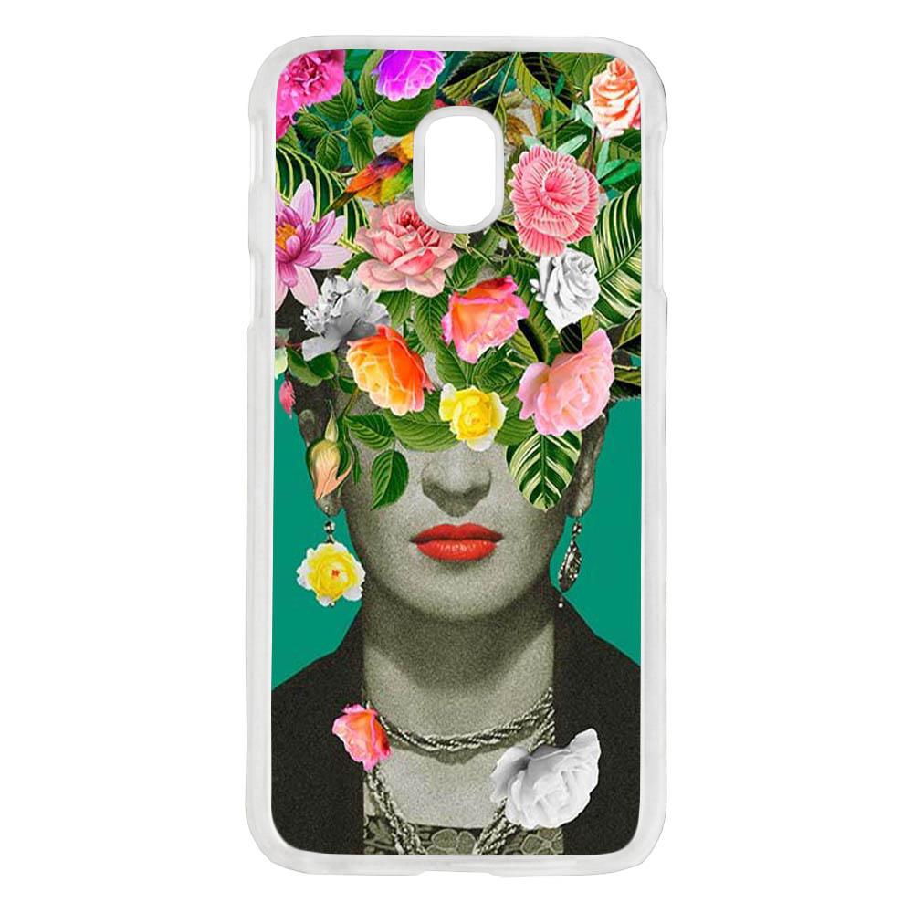 Coque Rigide Pour Samsung Galaxy J7 2017 Motif Frida Kahlo 2 Vintage