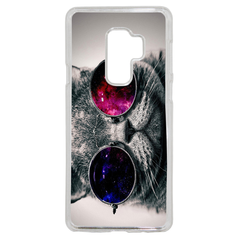 Coque Rigide Pour Samsung Galaxy A8 2018 Motif Chat Swag Humour