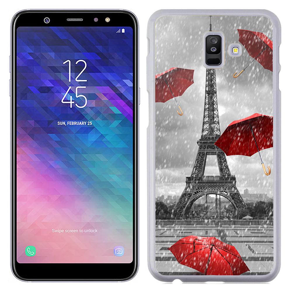 Coque Rigide Pour Samsung Galaxy J6 Motif Tour Eiffel Paris 1 France