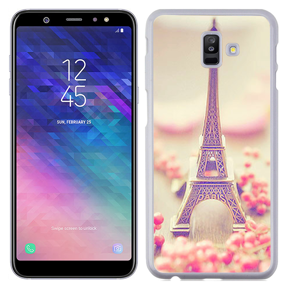 Coque Rigide Pour Samsung Galaxy J6 Motif Paris 2 Tour Eiffel France