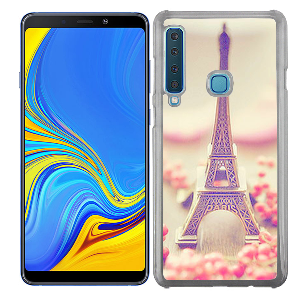 Coque Rigide Pour Samsung Galaxy A9 2018 Motif Paris 2 Tour Eiffel France