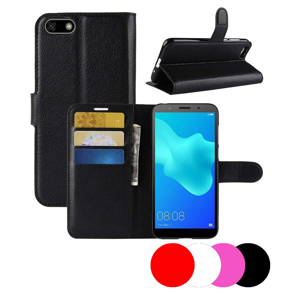 Etui Housse Portefeuille Pour Huawei Y5 2018