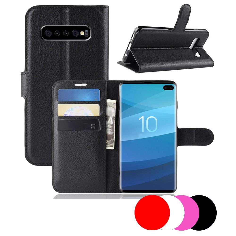 Etui Housse Portefeuille Pour Samsung Galaxy S10+ Plus