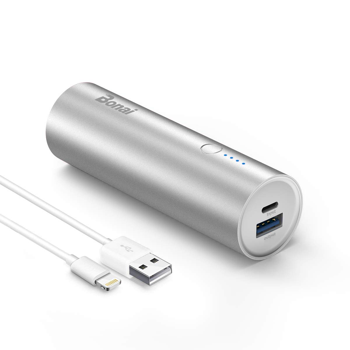 Power Bank Mini Batterie Externe de Secours Charge Rapide 5800 mAh