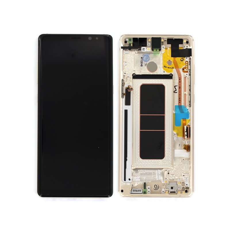 Bloc Ecran LCD Complet pour Samsung Galaxy Note 8 (N950F) - Or