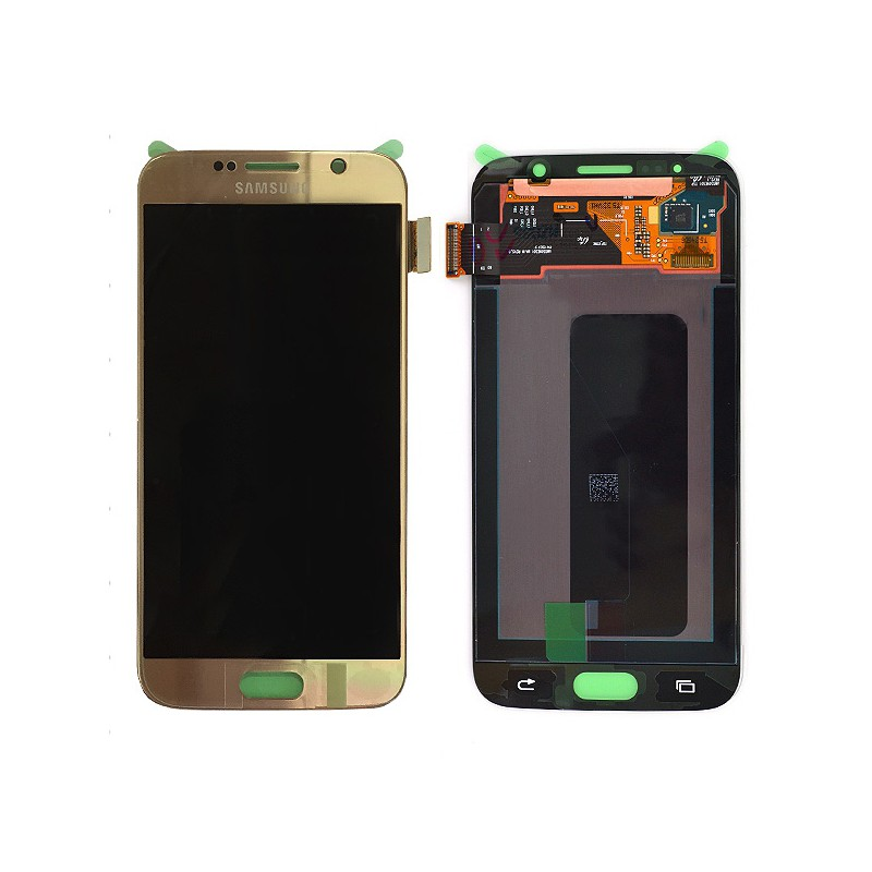 Bloc Ecran LCD Complet pour Samsung Galaxy S6 (G920F) - Or