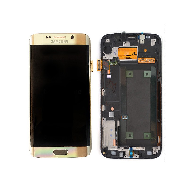 Bloc Ecran LCD Complet pour Samsung Galaxy S6 Edge (G925F) - Or