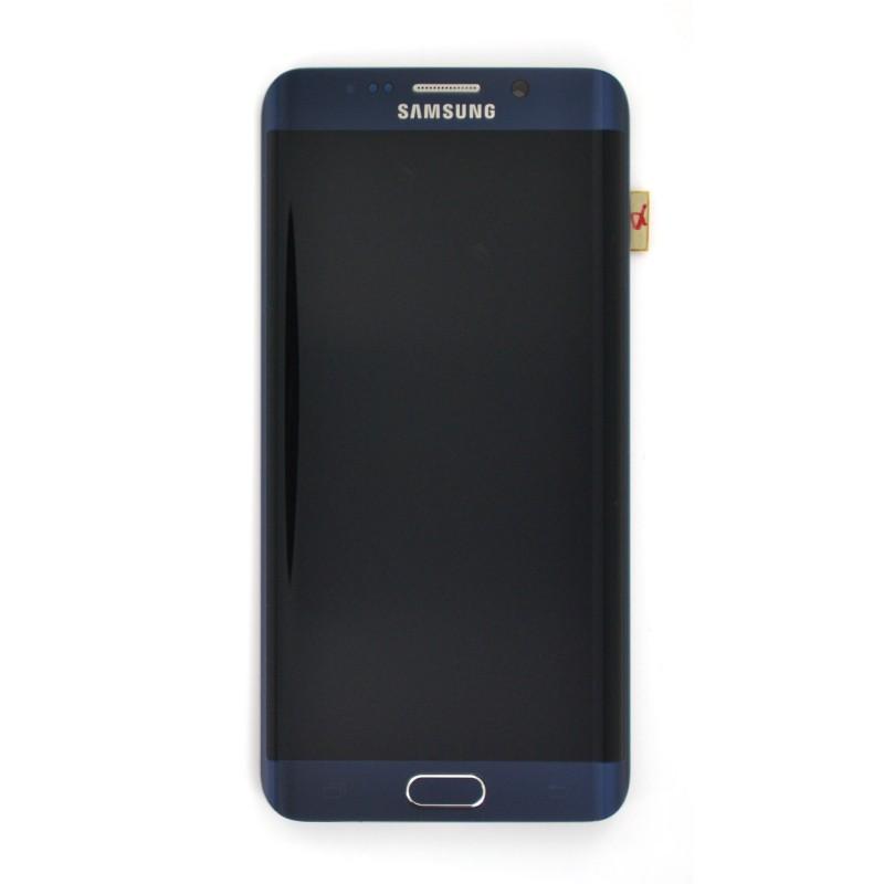 Bloc Ecran LCD Complet pour Samsung Galaxy S6 Edge + (G928F) - Noir