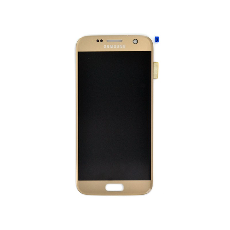 Bloc Ecran LCD Complet pour Samsung Galaxy S7 (G930F) - Or