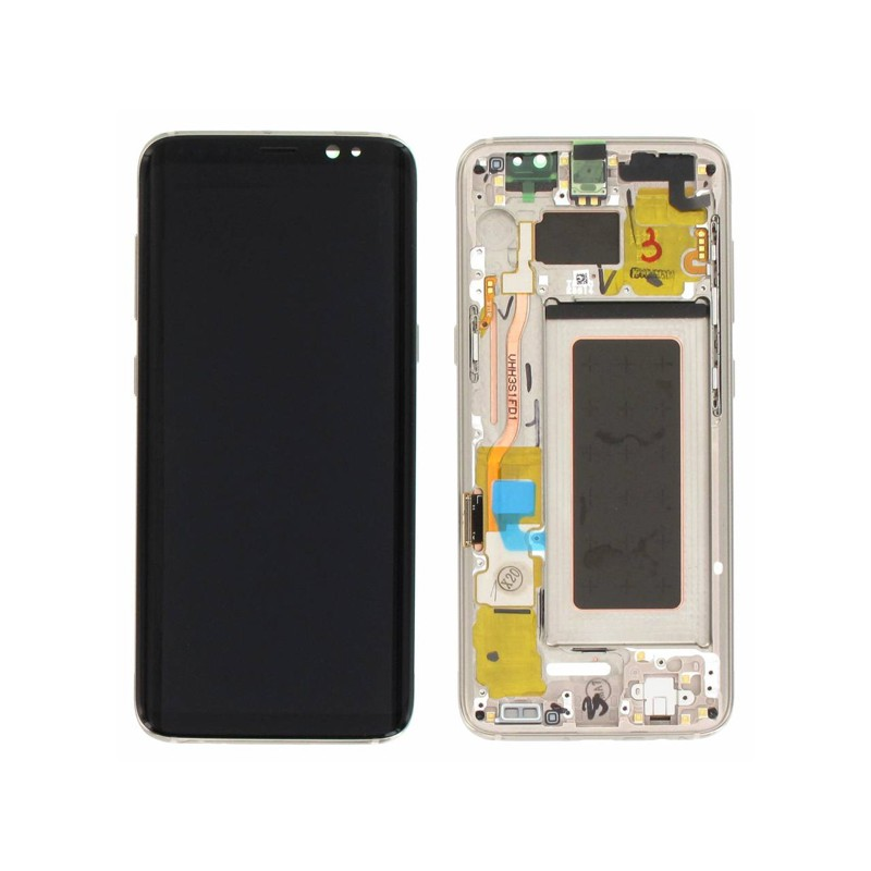 Bloc Ecran LCD Complet pour Samsung Galaxy S8 (G950F) - Or