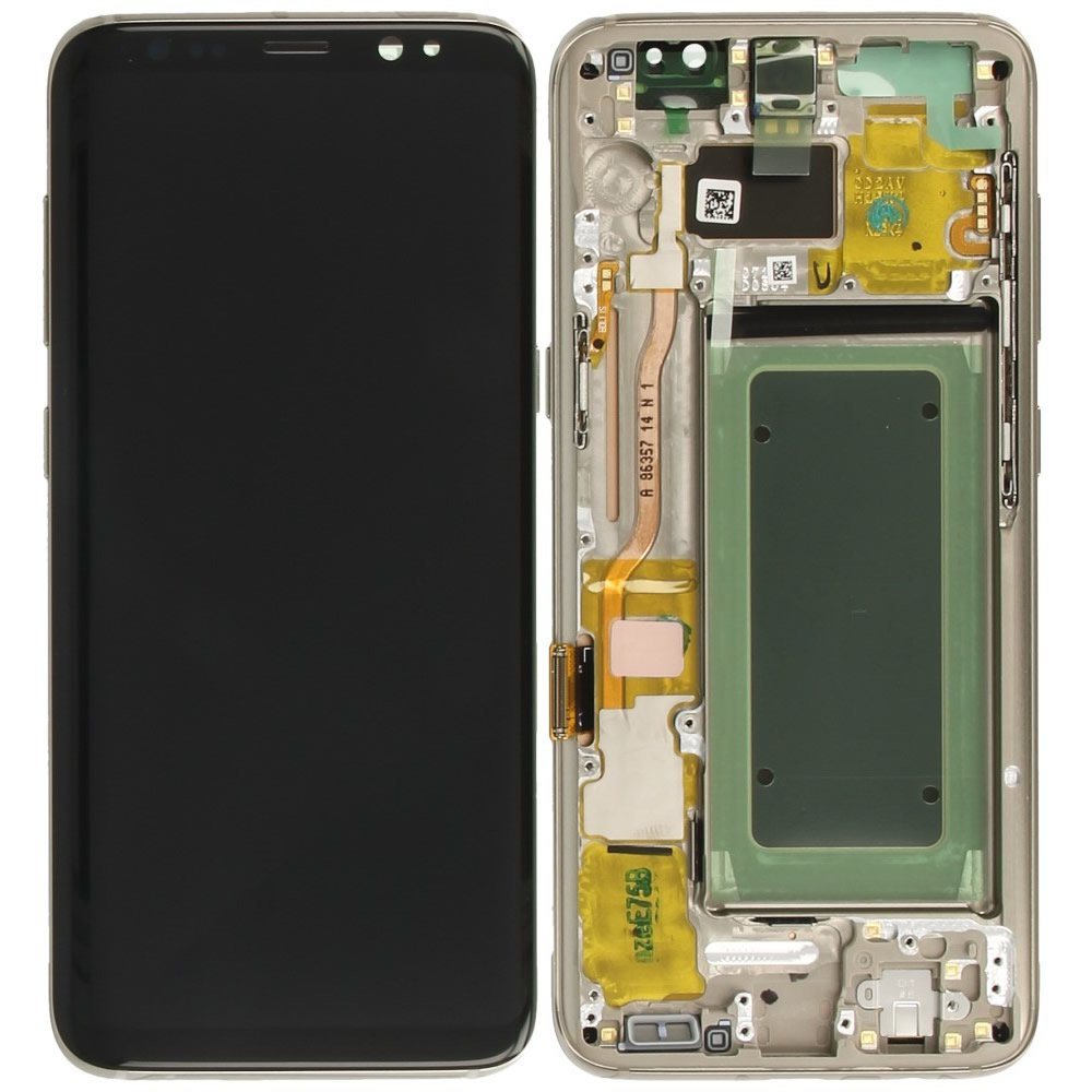 Bloc Ecran LCD Complet pour Samsung Galaxy S8+ (G955F) - Or