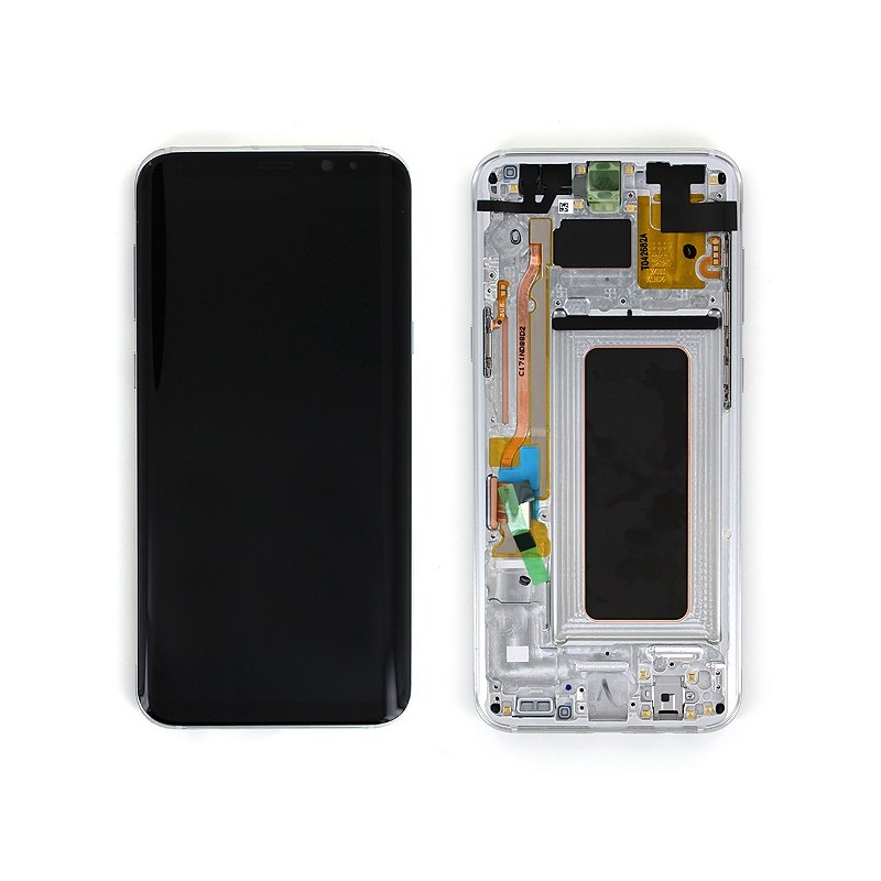 Bloc Ecran LCD Complet pour Samsung Galaxy S8+ (G955F) - Argent