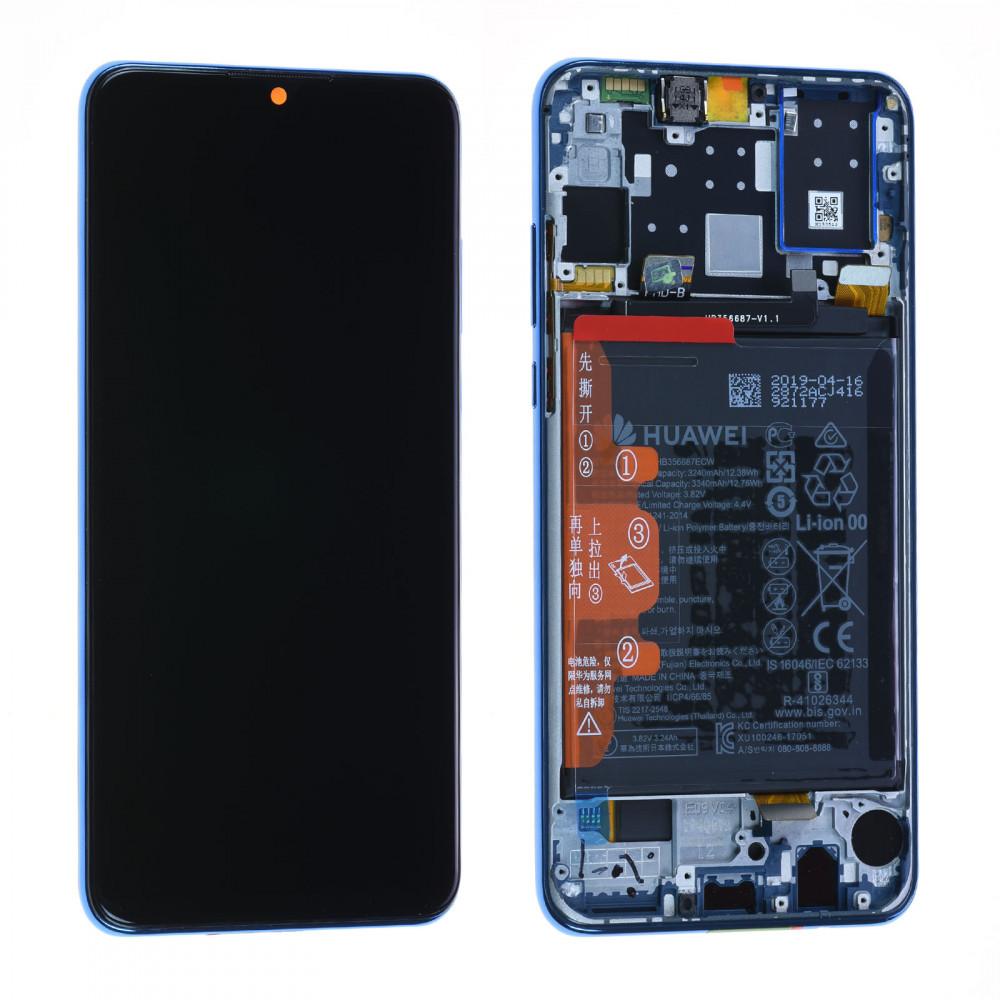 Bloc Ecran LCD Complet pour Huawei P30 Lite - Bleu