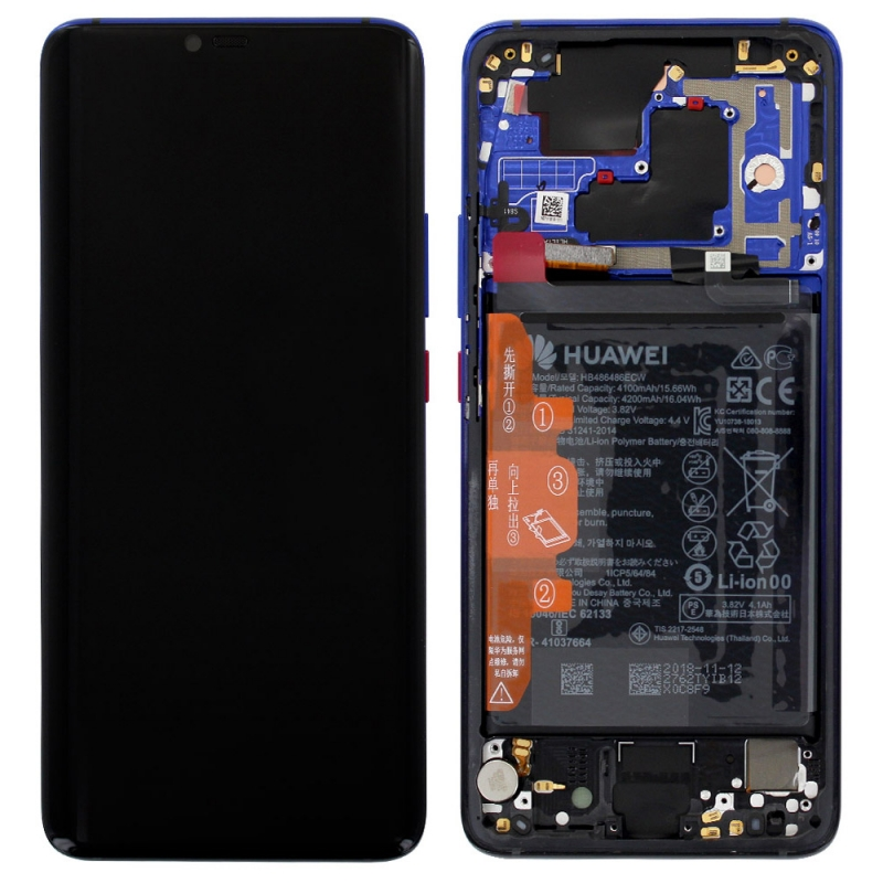 Bloc Ecran LCD Complet pour Huawei Mate 20 Pro - Twillight