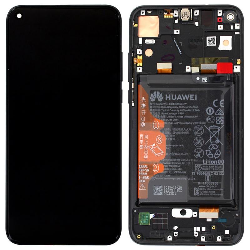 Bloc Ecran LCD Complet pour Huawei Honor View 20 - Noir