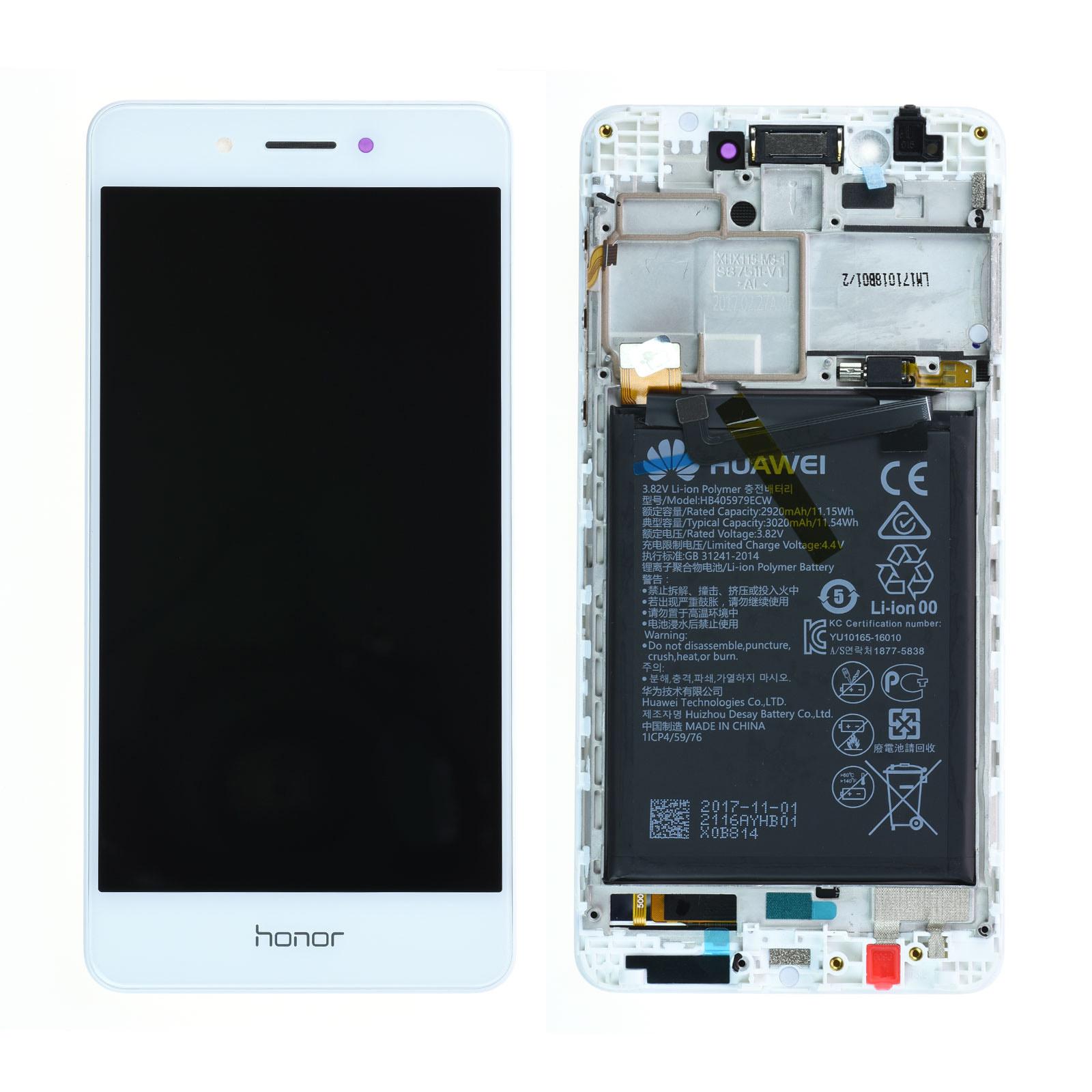 Bloc Ecran LCD Complet pour Huawei Honor 6C - Blanc
