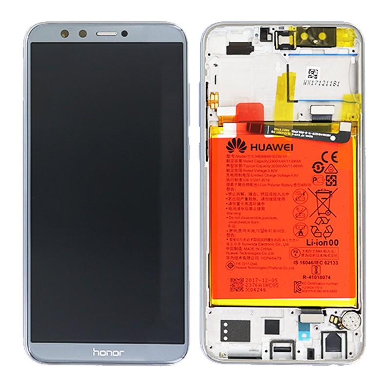 Bloc Ecran LCD Complet pour Huawei Honor 9 Lite - Gris