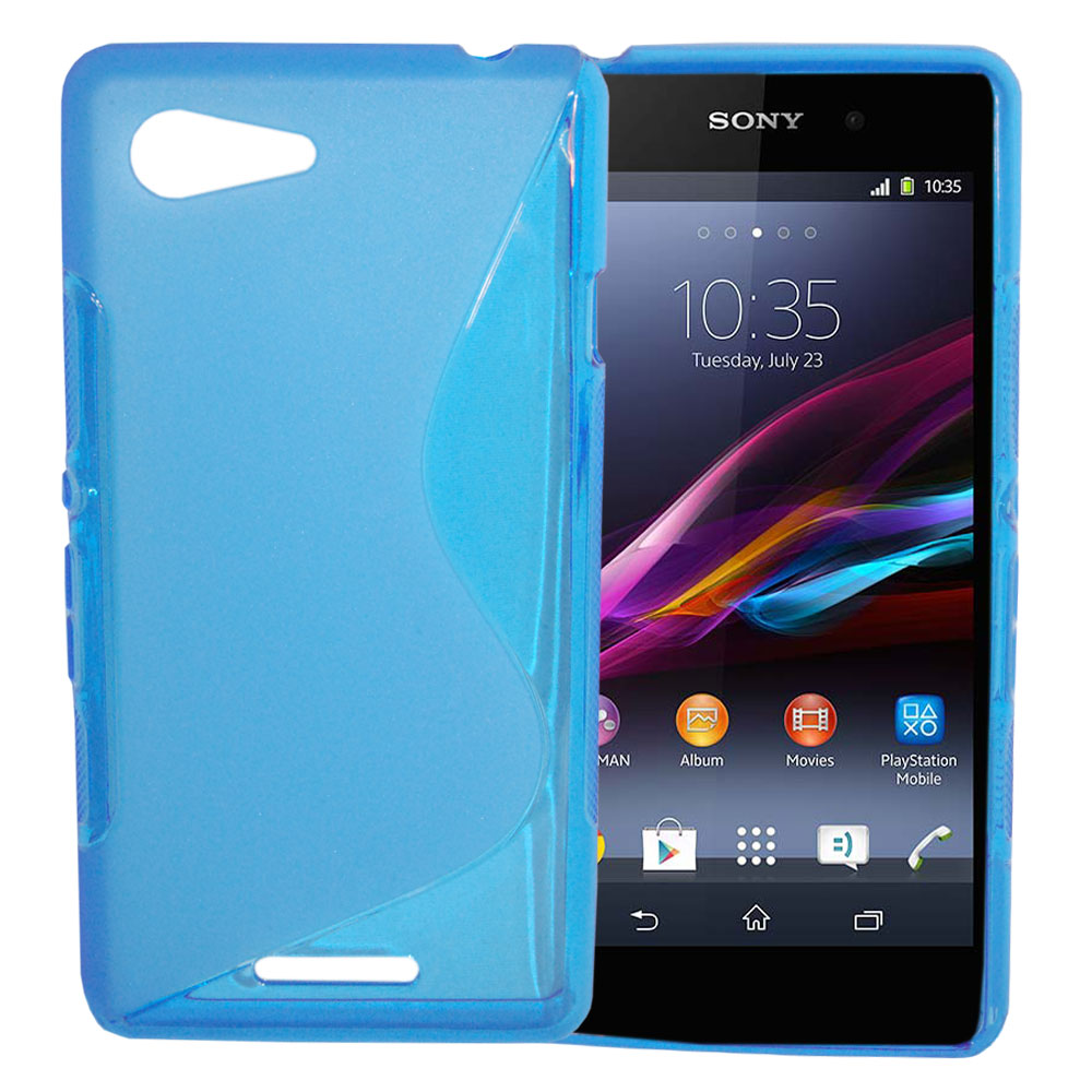 etui housse coque gel vague s sony xperia z5 compact ebay