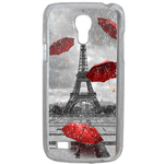 Coque Rigide Pour Samsung Galaxy S4 Mini Motif Tour Eiffel Paris 1 France