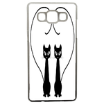 Coque Rigide Chat Duo Pour Samsung Galaxy A5
